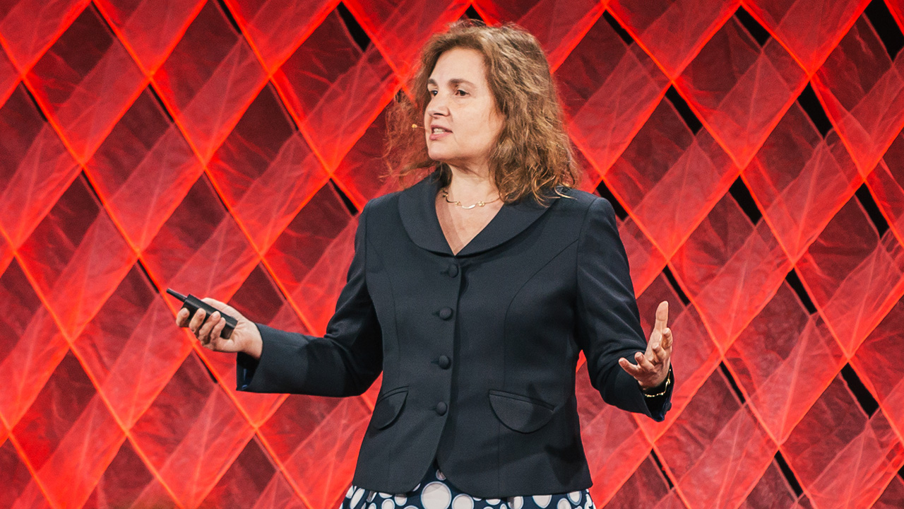 Daniela Rus speaking at TED