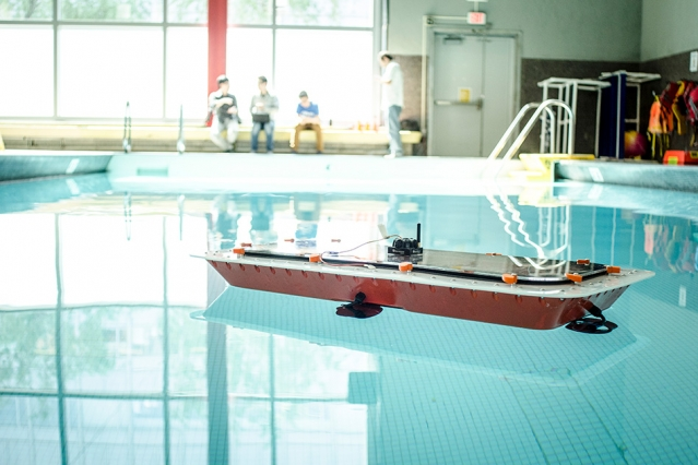 Researchers from MIT's Computer Science and Artificial Intelligence Laboratory (CSAIL) and the Senseable City Lab have designed a fleet of autonomous boats that offer high maneuverability and precise control. The boats can also be rapidly 3-D printed using a low-cost printer, making mass manufacturing more feasible. The boats could be used to taxi people around and to deliver goods, easing street traffic, or even perform city services overnight, instead of during busy daylight hours.