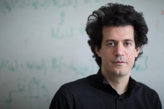 Constantinos Daskalakis adapts techniques from theoretical computer science to game theory. Photo credit: Bryce Vickmark