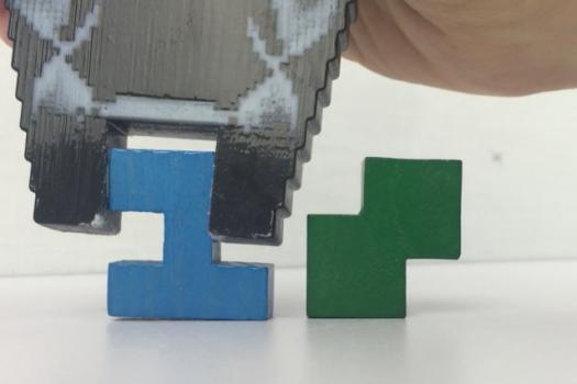 MIT researchers have developed a new design system that catalogues the physical properties of a huge number of tiny cube clusters. These clusters can then serve as building blocks for larger printable objects.