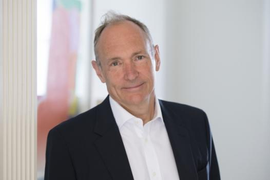 "Tim Berners-Lee was honored with the Turing Award for his work inventing the World Wide Web, the first web browser, and ""the fundamental protocols and algorithms [that allowed] the web to scale."""