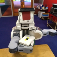 pr2 robot whole arm grasp