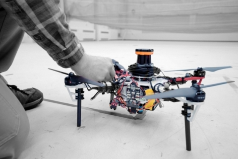 Drone (image by Melanie Gonick, MIT)