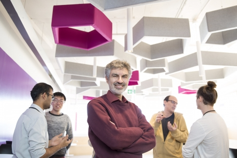 photo of Yoshua Bengio, credit Maryse Boyce