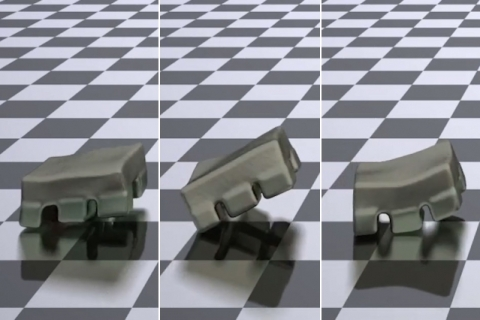 MIT-invented model efficiently and simultaneously optimizes control and design of soft robots for target tasks,