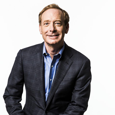 Brad Smith, president of Microsoft Corporation