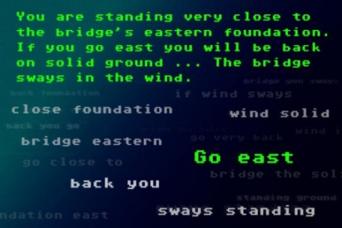 System learns to play text-based computer game using only linguistic information.