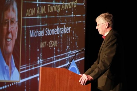 Stonebraker's work over the past four decades has helped spur the multi-billion-dollar big data industry.