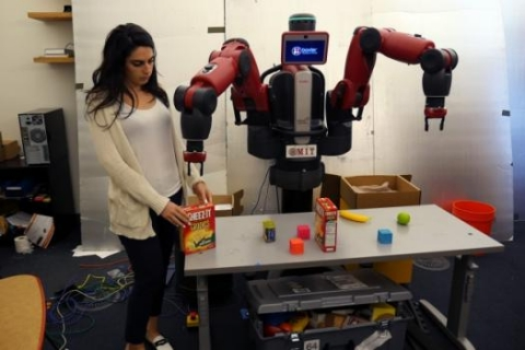 "ComText allows robots to understand contextual commands such as, ""Pick up the box I put down."""