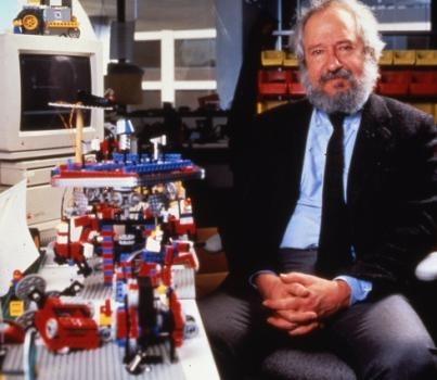 "The LEGO company named its Mindstorms robotics kits in recognition of Seymour Papert's seminal book, ""Mindstorms: Children, Computers, and Powerful Ideas."""